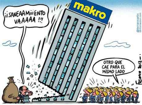 Condiciones de trabajo en Makro. CCOO