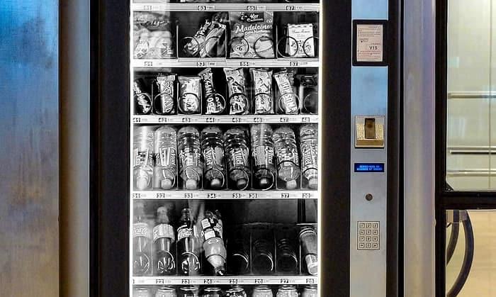 Maquina de vending. ERE en Selecta.