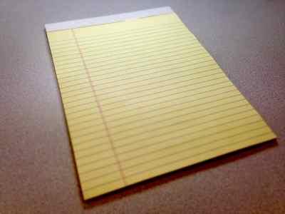 Papel de notas. Convenio del Comercio de Papel
