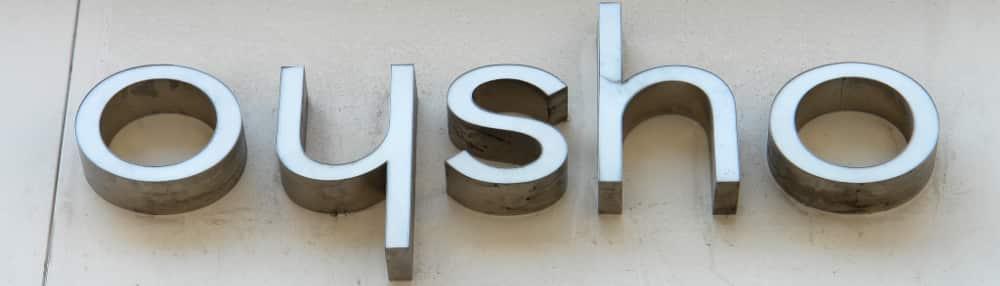 Logotipo tienda OYSHO, comercio textil