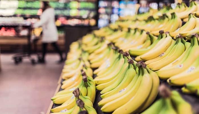 Supermercado. Platanos
