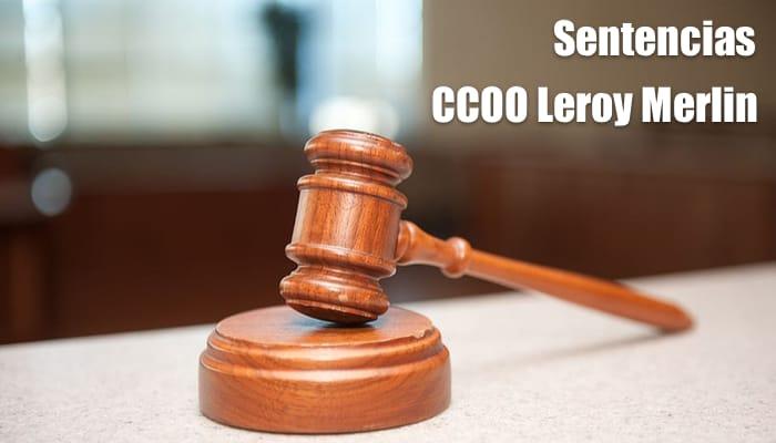 Sentencia favorable a CCOO en Leroy Merín