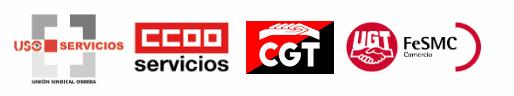 Logos sindicatos comercio