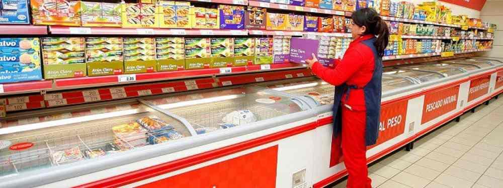 Trabajadora de Supermercado