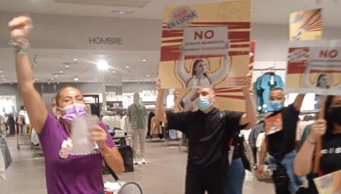 Portesta en tiendas de H&M