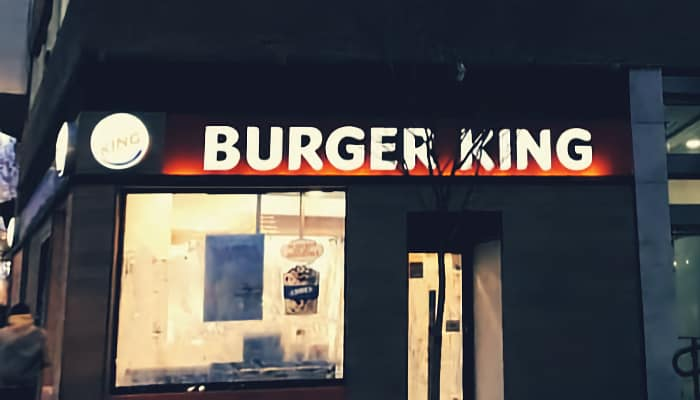 Burger King en Madrid. ERTE COronavirus