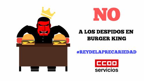 No a los despidos en Burger King
