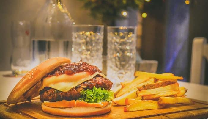 Comida rápida- hamburguesas