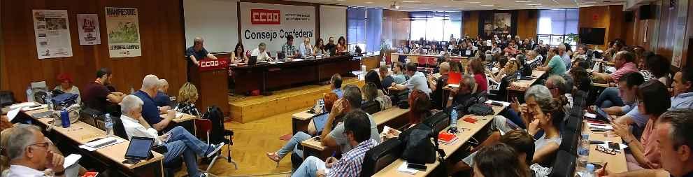 Consejo Confederal de CCOO