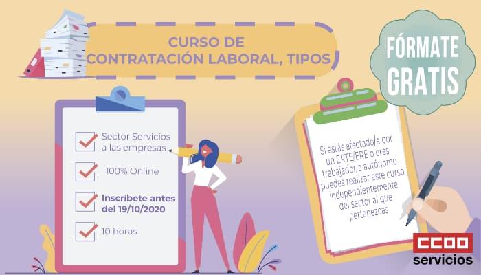 Cruso contratos laborales. gratuito