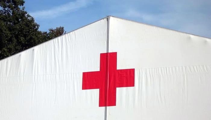 Tienda camapañ Cruzz Roja