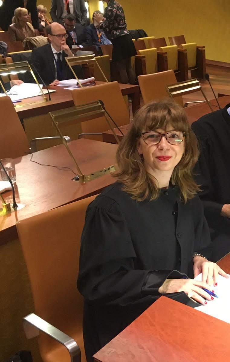 Pilar Caballero Abogada de CCOO