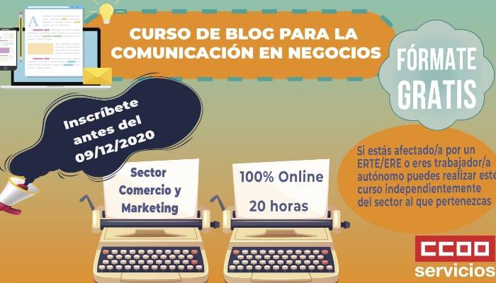 Curso gratuito Blog para la Comunicación en Negocios