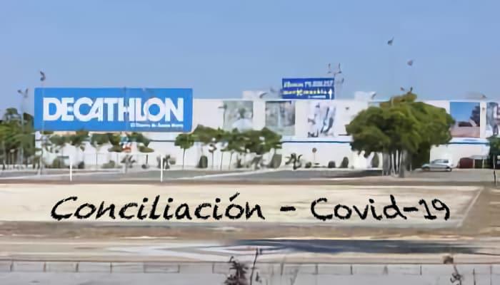Conciliacion relacionada con el covid 19 en Decathlon