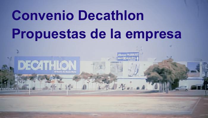 Tienda Decathlon, negociación colectiva