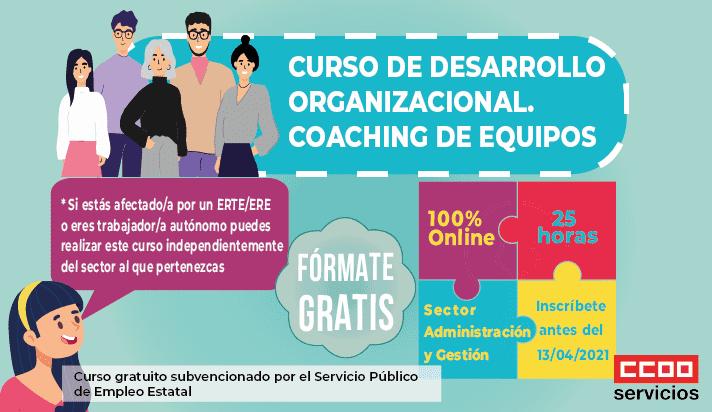 Curso desarrollo organizacionel. Coaching de equipos