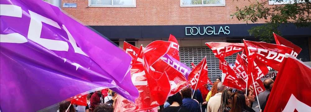 Movilización y Huelga perfumerías Douglas