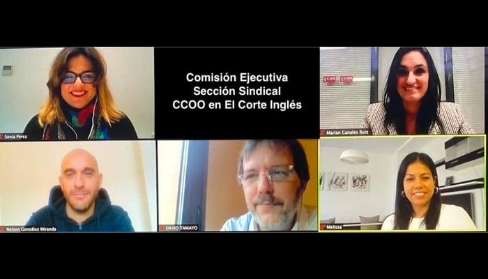 Ejecutiva CCOO El Corte Inglés