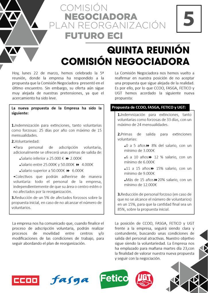 Comisión Negociadora 5
