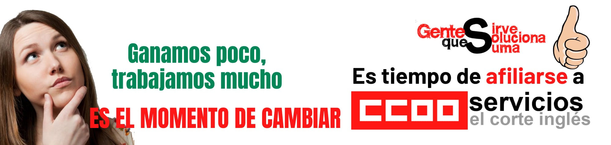 CCOO reivindica tus derechos
