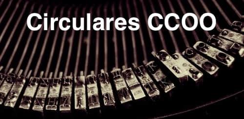 Circulares CCOO ECI
