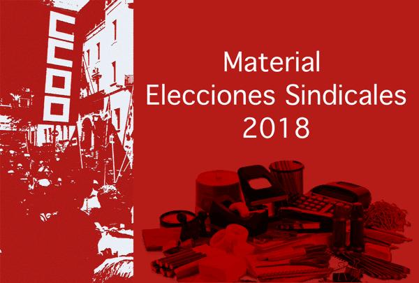 Material para las Elecciones Sindicales de 2018