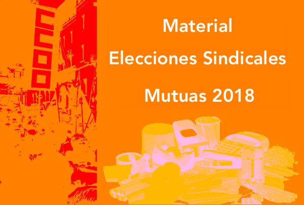 Material elecciones sindicales mutuas