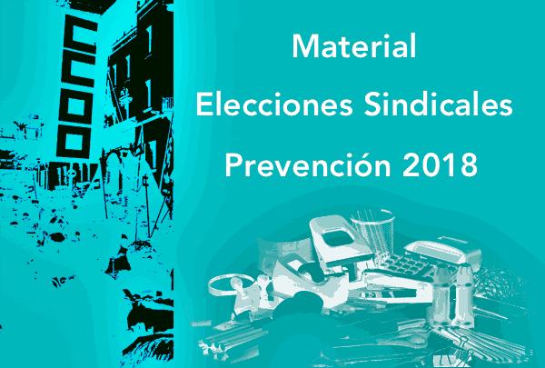 Material elecciones sindicales prevencion