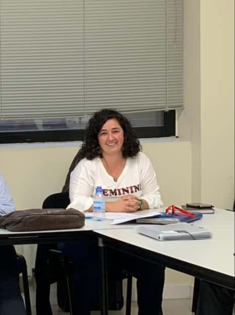 Rebeca Atxutegi responsable de la Sección sindical Caixabank en Euskadi.