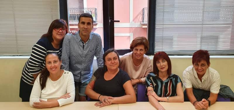 Delegados y delegadas de CCOO Carrefour en Euskadi