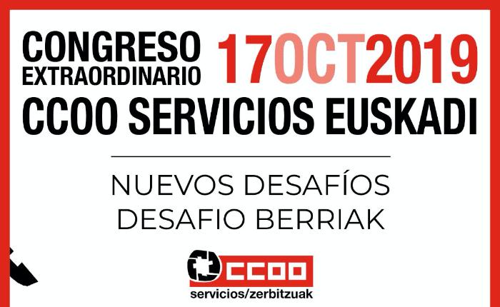 Congreso Euskadi CCOO Servicios