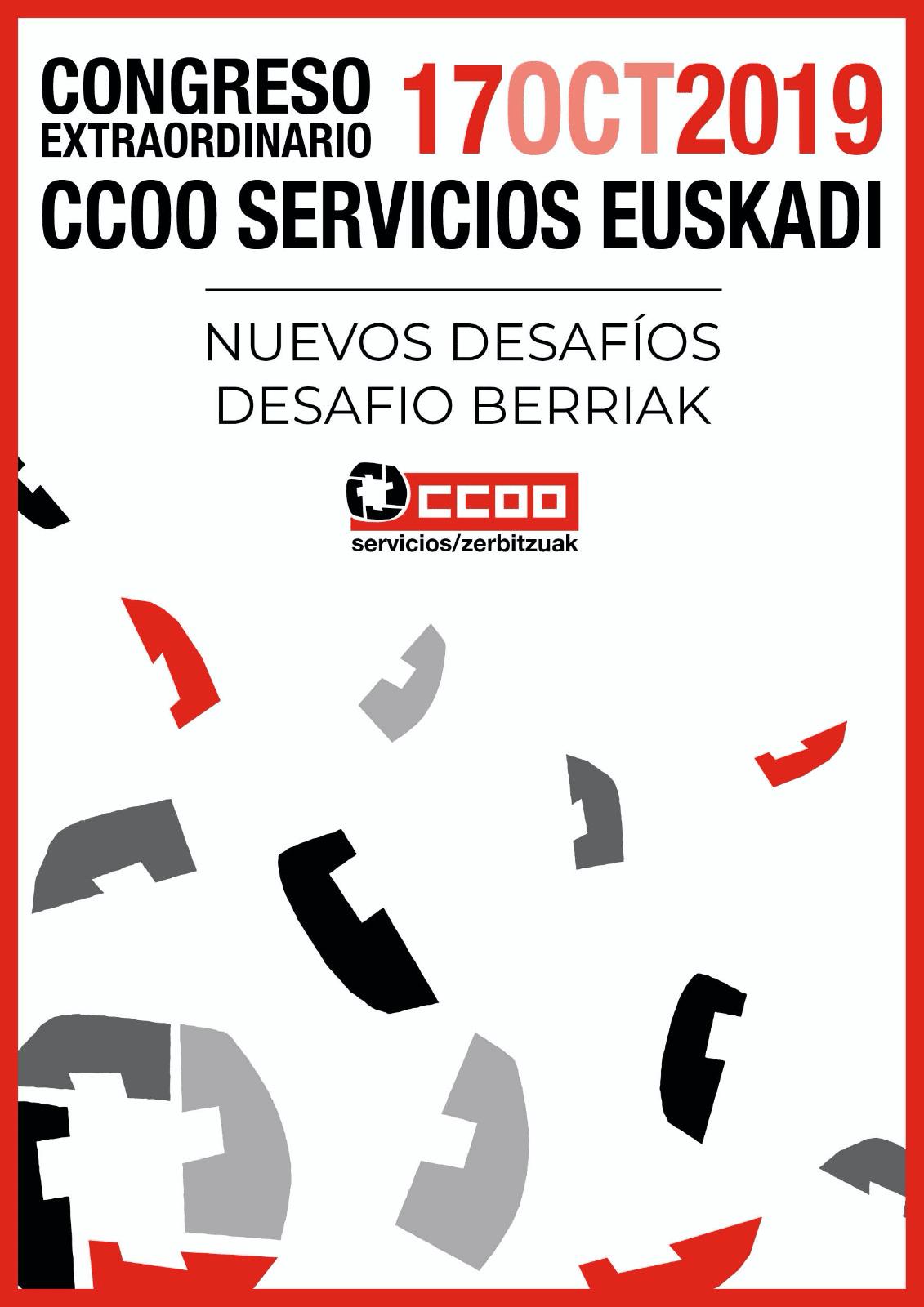 Congreso CCOO Servicios Euskadi