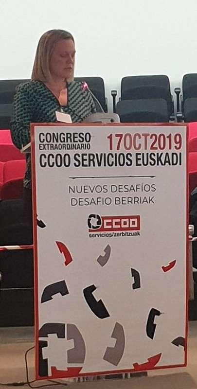 Secretaria General CCOO servicios Euskadi