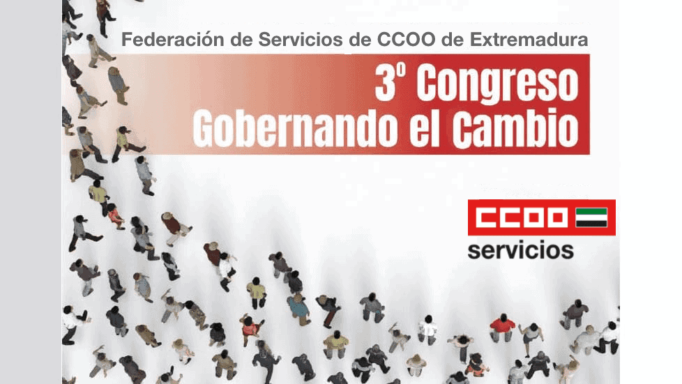 Congtreso Federación de Servicios de CCOO Extremadura