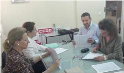 CCOO Firma convenio de Opticas Badajoz.