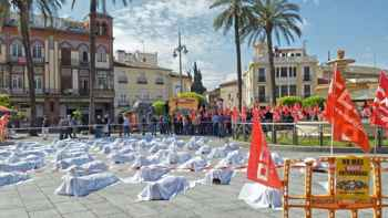 Concentración salud laboral Extremadura