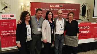 Ejecutiva CCOO Servicios Extremadura