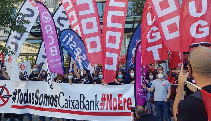 Movilizaciones ERE Caixabank