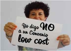 No al convenio Low cost en banca