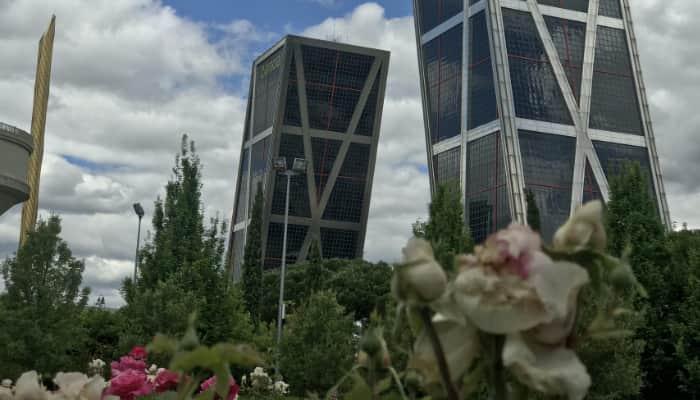 Torre bankia Madrid. Sector financireo