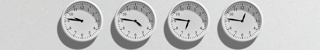 Relojes. Registro de jornada