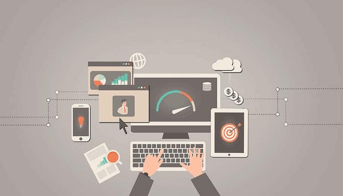 Imagen negocios y ordenador. Sector financiero
