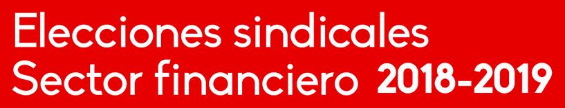 Elecciones Sindicales Sector Financiero