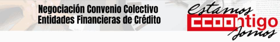 Convenio colectivo entidades financiación