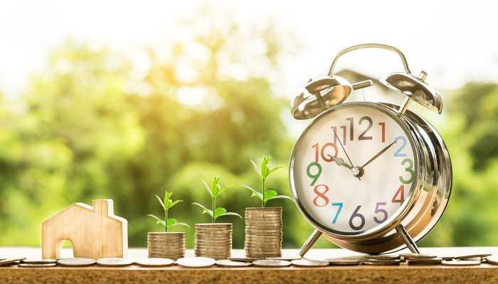 Dinero y tiempo ilustran Convenio de ahorro