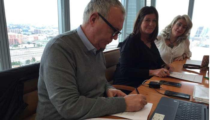 Firma Acuerdo Registro de Jornada en Banca