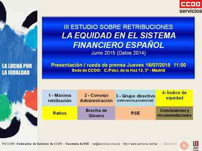 Informe retribuciones SEctor financiero