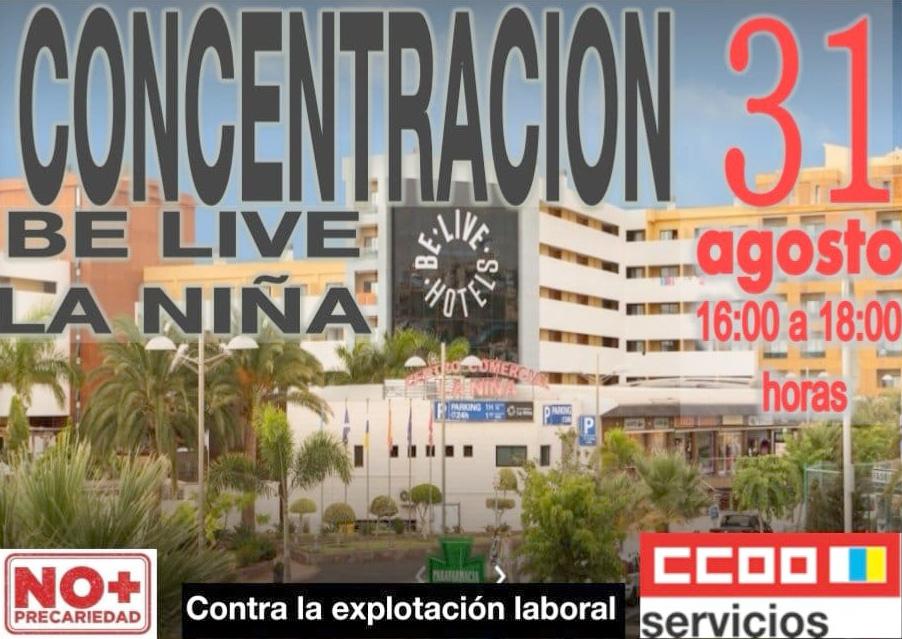 concentración be live Lanzarotr
