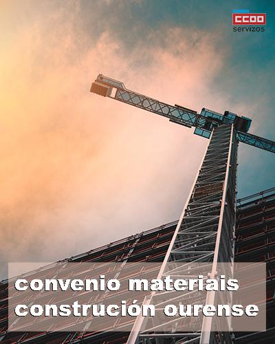 convenio colectivo materiais contrución Ourense