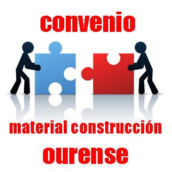 Convenio Colectivo Comercio Material Construción Ourense
